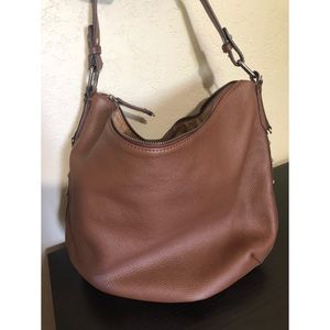 NWOT Lucky Brand Leather Shoulder Purse